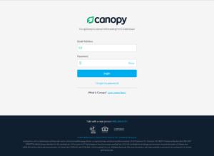 Canopy - Login